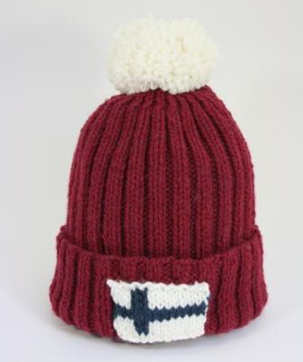 bonnet laponie prune finlandais2
