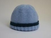 Kit bonnet bébé Teddy bicolore